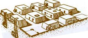 مصطبه-فرم ابتدایی مقابر مصری